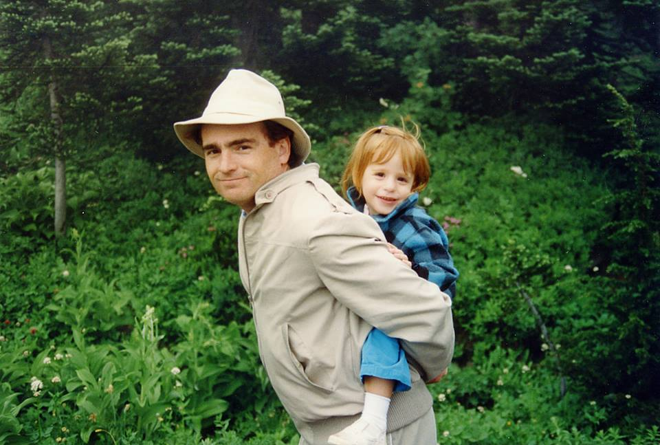 Mt Rainier K and Dad