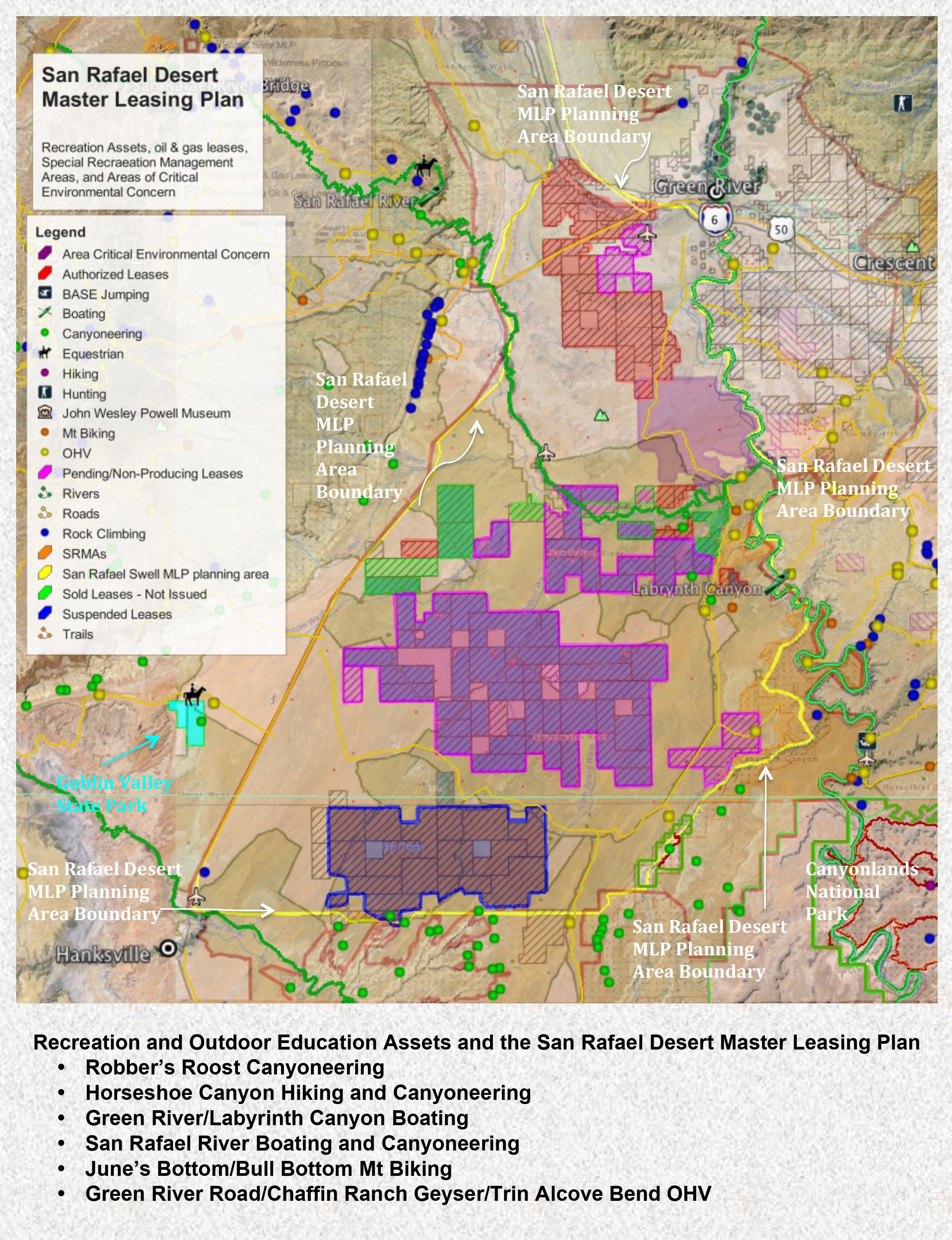 Utah BLM Announces Master Leasing Plan for San Rafael Desert ...